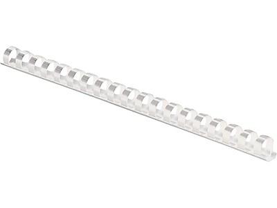 1//2 Diameter Fellowes 52326 Plastic Comb Bindings 90 Sheet Capacity 100 Combs Per Pack Black Sold as 4 Pack