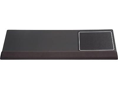 Kelly Computer Viscoflex Foam Mouse Pad/Wrist Rest Combo, Black (KCS52306)