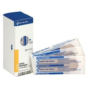 "First Aid Only SmartCompliance 1""W x 3""L Adhesive Bandages, 25/Box (FAE-3001)"