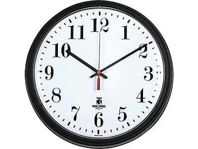 Chicago Lighthouse Contract Wall Clock, 13.75