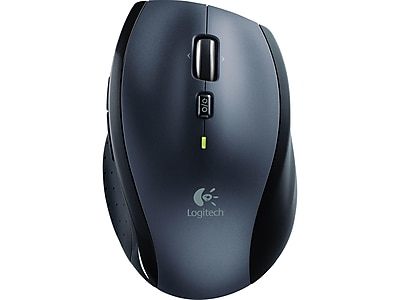Logitech Marathon M705 910-001935 Wireless Laser Mouse, Charcoal