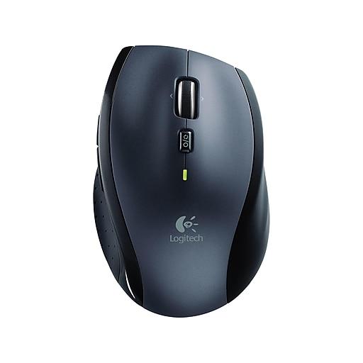 1813d29255a Logitech M705 Marathon Wireless Laser Mouse, Black (910-001935) | Staples