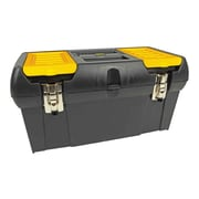 Stanley Series 2000 Toolbox with Tray, Black/Yellow (019151M)
