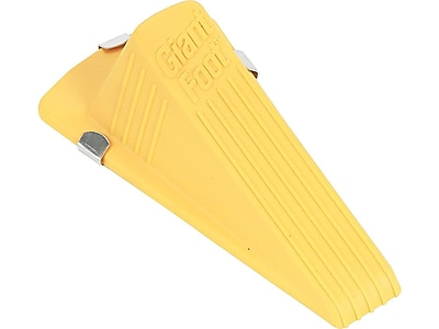 Master Magnetic Giant Foot Rubber Stop, Yellow (00967)