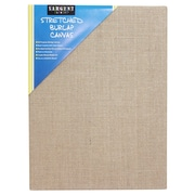 "Sargent Art Stretched Canvas 9"" x 12"" Burlap, Pack of 3 (SAR902028)"