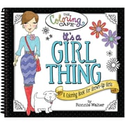 CQ Products Coloring Book The Coloring Cafe', It's A Girl Thing (CQCBK-2502)