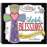 CQ Products Coloring Book The Coloring Cafe', Colorful Blessings (CQCBK-2503)