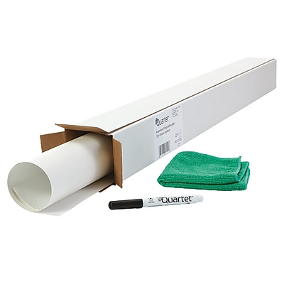 Quartet Anywhere Repositionable Dry-Erase Surface, Self-Adhesive Sheets,