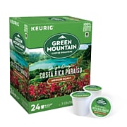 Green Mountain Costa Rica Paraiso, Keurig® K-Cup® Pods, Medium Roast,24/Box (611247380871)