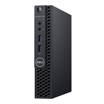Dell OptiPlex 3000 3060 Desktop Computer, Intel Core i3, 500GB, 4GB RAM, Windows 10 Professional, Intel UHD Graphics 630