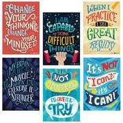 Creative Teaching Press Mindset Inspire U Poster, 6/Pack (CTP5692)+AH11AH11:AH31