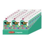Charles Leonard Creative Arts™ Crayons, 24 Per Pack, 24 Packs (CHL42024ST)