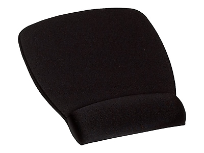 3M Foam Mouse Pad/Wrist Rest Combo, Black (MW209MB)