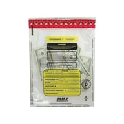 MMF Industries FRAUDSTOPPER Deposit Bags, Clear, 100/Box (2362035N20)