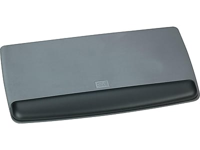 3M Gel Wrist Rest, Black/Gray (WR420LE)