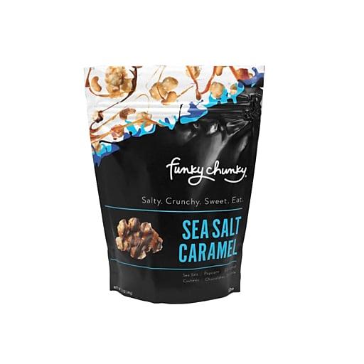 Funky Chunky Gourmet Sea Salt Caramel Popcorn, 5 oz Bag, 6/CT (GGI00036)