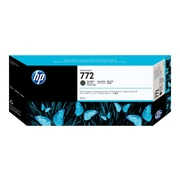HP 772 Black Matte Ink Cartridge, Standard (CN635A)