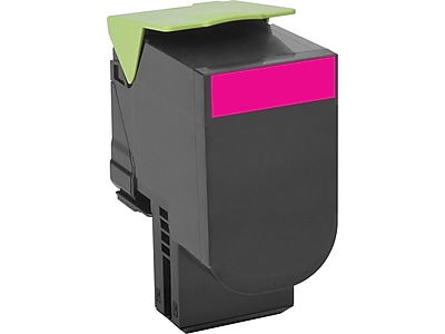 Lexmark 801XM Magenta Toner Cartridge, Extra High Yield (80C1XM0)
