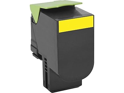 Lexmark 801XY Yellow Toner Cartridge, Extra High Yield (80C1XY0)