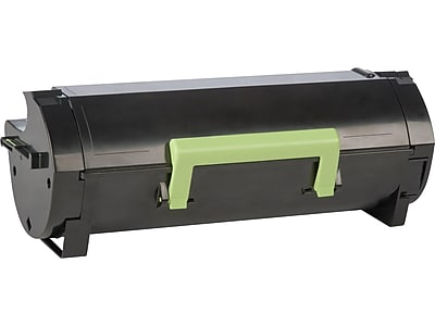 Lexmark 601H Black Toner Cartridge, High Yield (60F1H00)