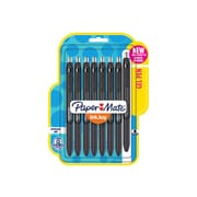 Paper Mate InkJoy Retractable Gel Pens, Medium Point, Black Ink, 8/Pack (1958856)