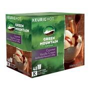Green Mountain Caramel Vanilla Cream Coffee, Keurig® K-Cup® Pods, Light Roast, 48/Box (350072)
