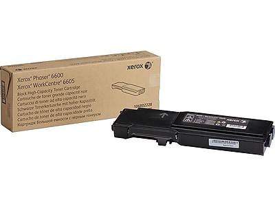 Xerox 106R02228 Black Toner Cartridge, High Yield