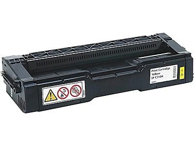 Ricoh Type SP C310A Yellow Toner Cartridge, Standard (406347)
