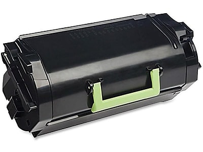 Lexmark 521H Black Toner Cartridge, High Yield (52D1H00)