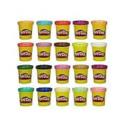 Hasbro Play-Doh Super Color Pack, 2+ Years, 20/Pack (CL342)