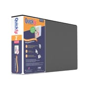 """Stride QuickFit Heavy Duty 1"""" 3-Ring View Binder for Legal Spreadsheet, Black (95011L)"""