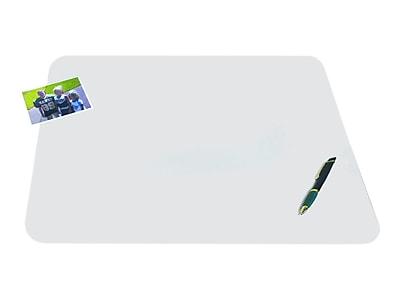 Artistic Krystal View Anti-microbial Plastic Desk Pad, 36