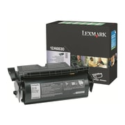 Lexmark 12A6830 Black Toner Cartridge, Standard