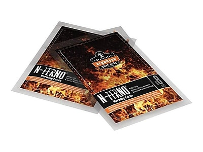 Ergodyne N-Ferno 6990 Activated Carbon Hand Warming Packs, 2.17