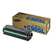 Samsung CLT-C505L Cyan High Yield Toner Cartridge (SU037A)