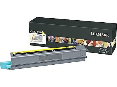 Lexmark C925H2YG Yellow Toner Cartridge, High Yield