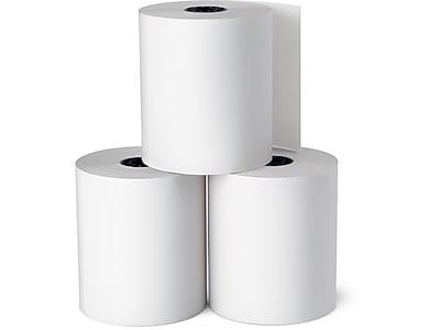 "Staples Bond Paper Rolls, 3"" x 128', 10/Pack (18211-CC)"