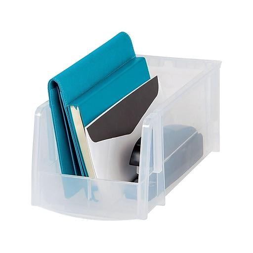 Staples Storage Box, Clear (51057)