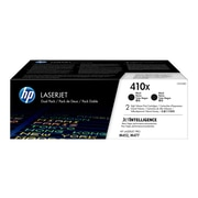 HP 410X Black Toner Cartridges, High Yield, 2/Pack (CF410XD)