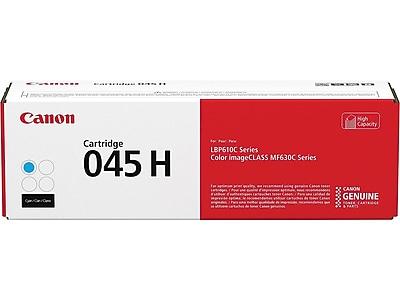 Canon 045 H Cyan Toner Cartridge, High Yield (1245C001)