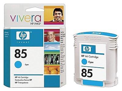 HP 85 Cyan Ink Cartridge, Standard (C9425A)