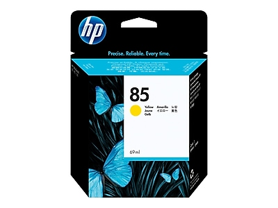 HP 85 Yellow Ink Cartridge, High Yield (C9427A)