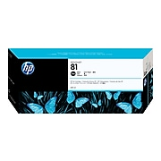 HP 81 Black Standard Yield Ink Cartridge (C4930A)