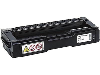 Ricoh Type SP C310A Black Toner Cartridge, Standard (406344)