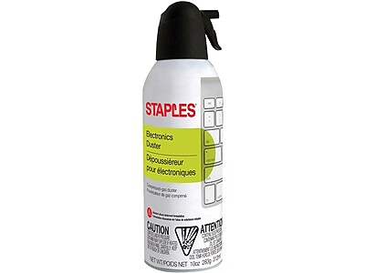 Staples Electronics Duster, 10oz., Single(SPL10ENFR-1)