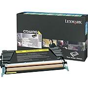 Lexmark C734 Yellow Standard Yield Toner Cartridge