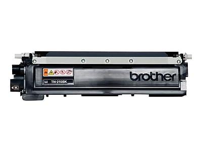 Brother TN 210BK Black Toner Cartridge, Standard