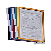 """DURABLE SHERPA Wall Reference System,  8.5"""" x 11"""", Assorted Plastic (554100)"""