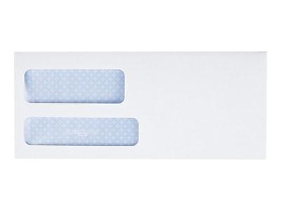 Quality Park Gummed Security Tinted Business Envelopes, 3 7/8
