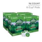 Green Mountain® Dark Magic Coffee, Keurig® K-Cup® Pods, Dark Roast, 96/Carton (GMT4061CT)